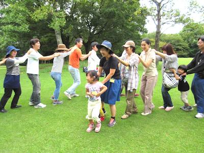 親子の自然遊び7月