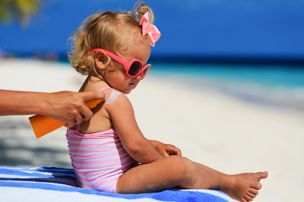 子どもの日焼け対策