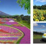 富士山の自然と花々を楽しむフラワーパーク 「富士 花めぐりの里」7/22(土)オープン!