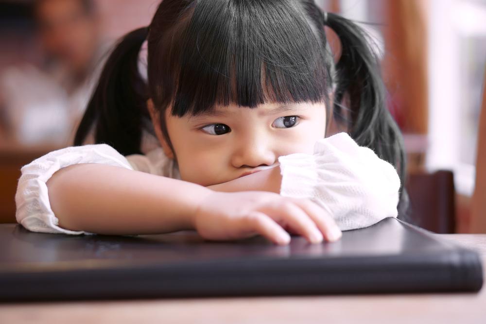 コロナ対策のために子どもがイライラ